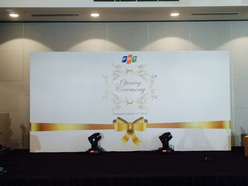 Backdrop Printing Singapore
